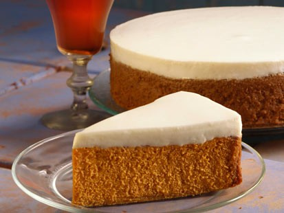 PHOTO: Danny Boome created a healthy swap for Amy Robachs pumpkin cheesecake recipe.