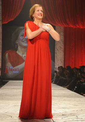 The 2013 Red Dress Fashion Show