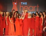 PHOTO: The runway show models celebrate during The Heart Truth 2013 Fashion Show held at the Hammerstein Ballroom, Feb. 6, 2013 in New York City.