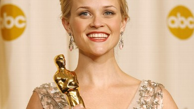 "PHOTO: Reese Witherspoon, winner Best Actress in a Leading Role for ""Walk the Line""."