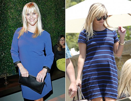 Reese Witherspoon Drops Baby Weight