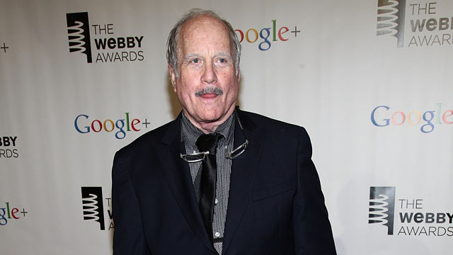 PHOTO: Richard Dreyfuss attends the 16th Annual Webby Awards at Hammerstein Ballroom, May 21, 2012 in New York City.