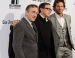 PHOTO: Robert De Niro, David O. Russell and Bradley Cooper