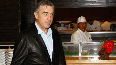PHOTO: Robert De Niro attends a press conference during the inauguration of his restorant NOBU in this Oct. 25, 2009 file photo in Mexico City, Mexico.