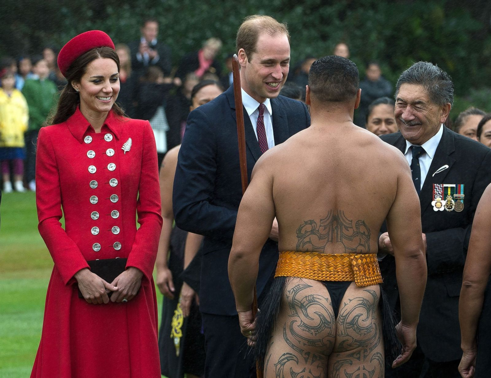 in zealand and new kate William