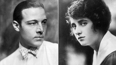 PHOTO: Rudolph Valentino and Jean Acker
