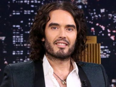 PHOTO: Russell Brand on The Tonight Show Starring Jimmy Fallon on Nov 18, 2014.