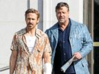 New Dad Ryan Gosling and Russell Crowe Get To Work