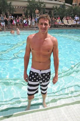 Ryan Lochte Flaunts His Body