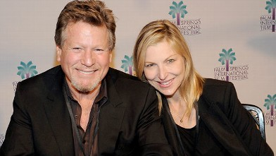 "PHOTO: Ryan O'Neal and Tatum O'Neal attend the ""Paper Moon"" Screening at the Camelot Theatre, Jan. 16, 2011 in Palm Springs, California."