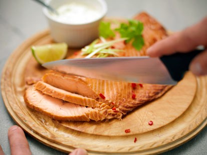 PHOTO: Smoked salmon is shown in this file photo.