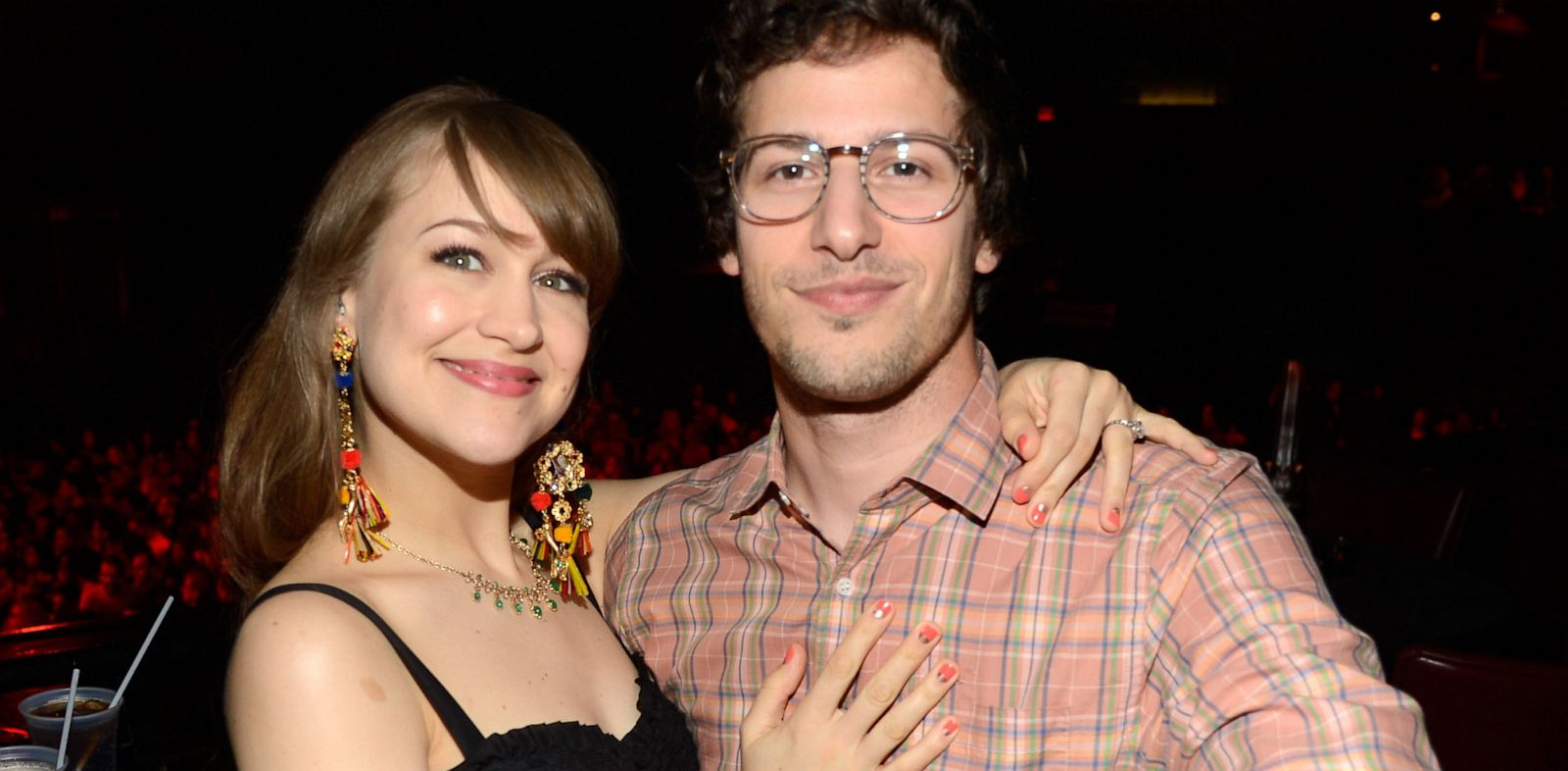 PHOTO: Joanna Newsom and Andam Samberg