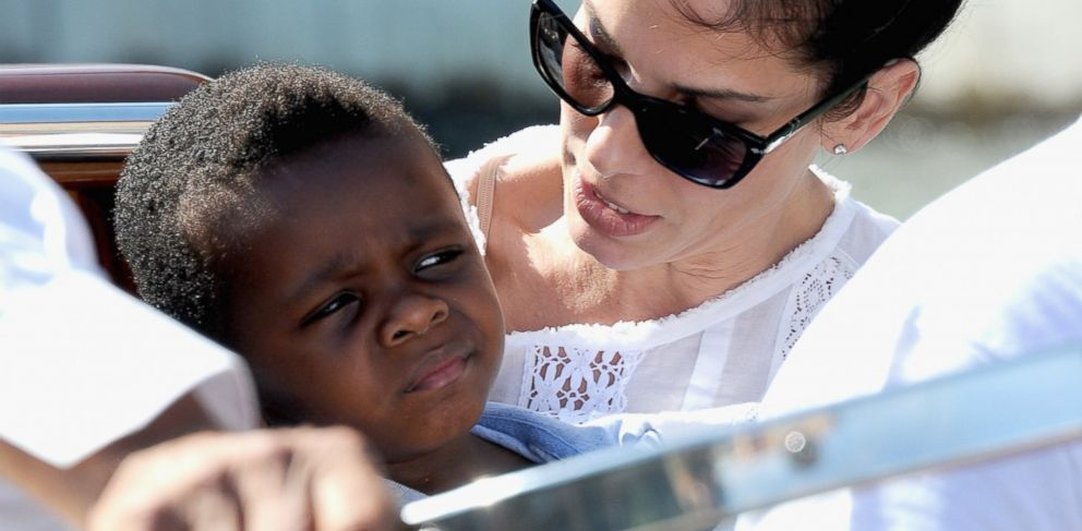 PHOTO: Actress Sandra Bullock and son Louis Bardo Bullock is seen during the 70th Venice International Film Festival on Aug. 27, 2013 in Venice, Italy.