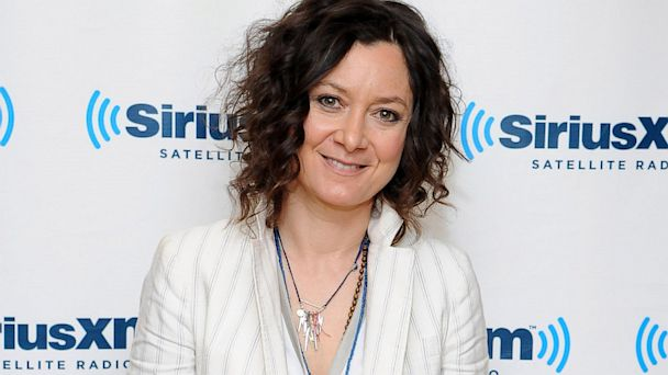 gty sara gilbert thG 130913 16x9 608 Sara Gilbert on Being Gay: I Still Feel Really Scared