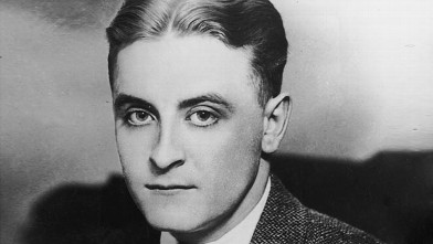 PHOTO: American author F Scott Fitzgerald (1896 - 1940) wearing a tweed suit.