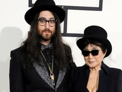 Yoko Ono and Sean Lennon Support Paul McCartney and Ringo Starr