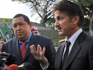 Sean Penn Mourns Death of Hugo Chavez