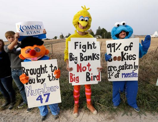 Sesame Street Becomes Part of 2012 Elections