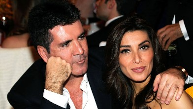 PHOTO:Simon Cowell and Mezhgan Hussainy attend the 18th Annual Elton John AIDS Foundation Academy Award Party at Pacific Design Center, March 7, 2010 in West Hollywood, Calif.