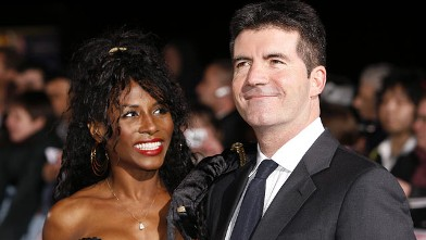 PHOTO: Simon Cowell is pictured with Sinitta in this 2006 file photo.