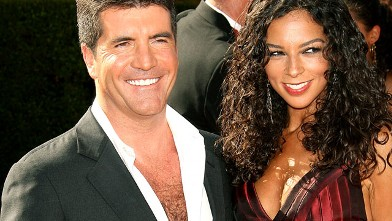 PHOTO:Simon Cowell and Terri Seymour attend the 58th Annual Primetime Emmy Awards, in Los Angeles, Calif.