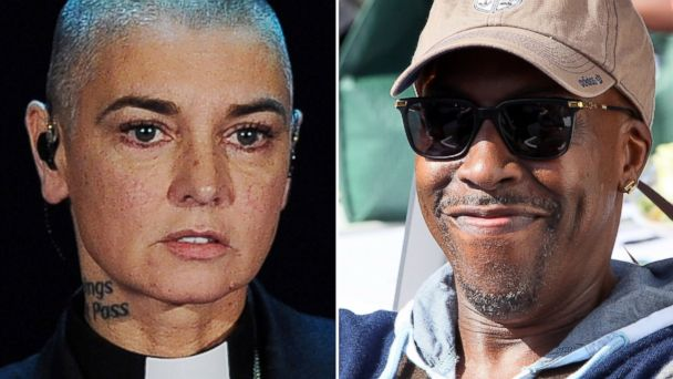PHOTO: Sinead O'Connor performs in Italy on Oct. 5, 2014 and Arsenio Hall attends an event in Burbank, Calif. on May 2, 2016.