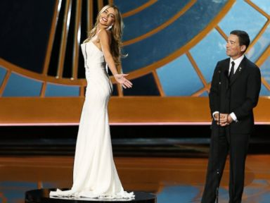 Sofia Vergara Tells Critics of Emmys Pedestal Gag to 'Lighten Up'