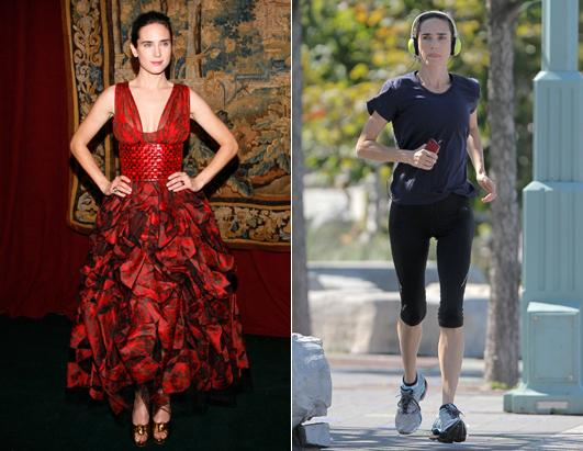 Has Jennifer Connelly taken her extreme exercising too far?