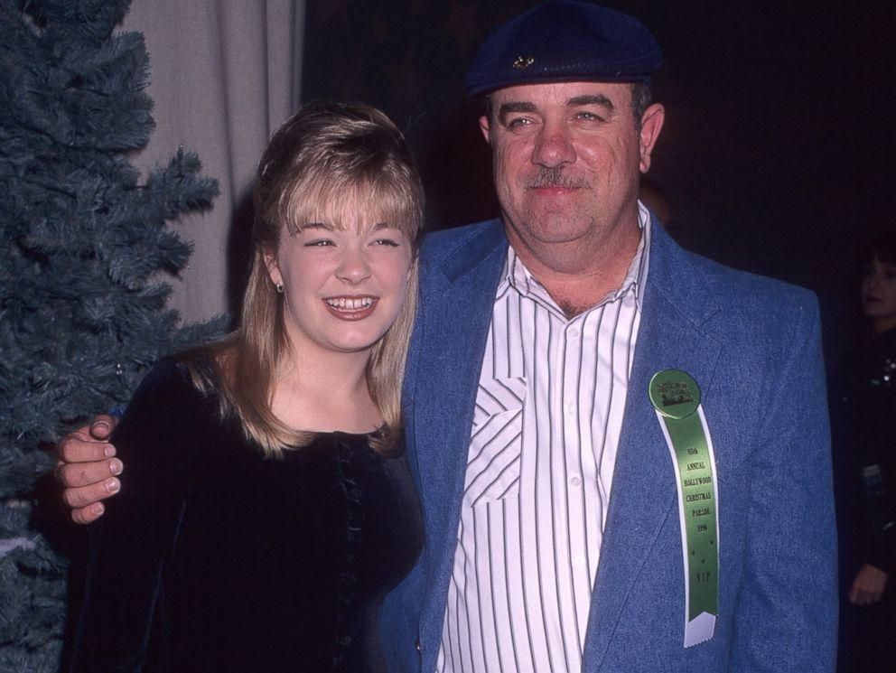 PHOTO: LeAnn Rimes and father Wilbur Rimes attend the 65th Annual Hollywood Christmas Parade on Dec. 1, 1996 in Hollywood, Calif.