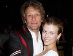 PHOTO: Stephanie Rose Bongiovi and her dad, Jon Bon Jovi attend the White Trash Beautiful Clothing Label Launch, June 23,2010 in London.