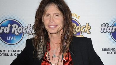 PHOTO: Steven Tyler attends the Bikers Bash at Seminole Hard Rock Hotel on December 7, 2012 in Hollywood, Florida.