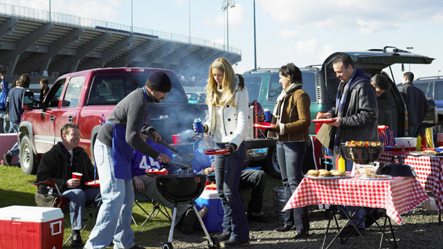 PHOTO: Try these team-inspired tailgating recipes for the Super Bowl this year.