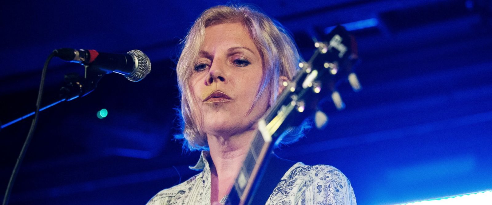 PHOTO: Tanya Donelly performs on stage at Oran Mor on Sept. 17, 2014 in Glasgow, United Kingdom.