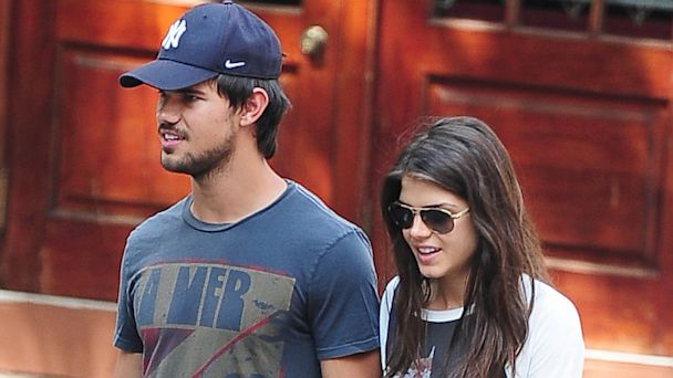 gty taylor lautner marie avgeropoulous ll 130730 16x9 608 Taylor Lautner Gets Closer With Co Star