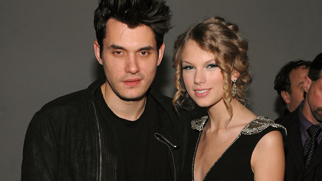 PHOTO: Musicians John Mayer (L) and Taylor Swift attend the launch of VEVO, the world's premiere destination for premium music video and entertainment at Skylight Studio on December 8, 2009 in New York City.