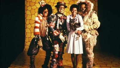 PHOTO: The cast of &quot;The Wiz&quot; left to right, Michael Jackson, Nipsey Russell, Diana Ross and Ted Ross pose for a publicity shot in 1978 in New York.