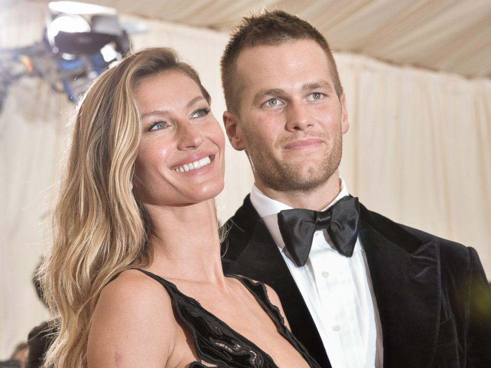 PHOTO: Gisele Bundchen and Tom Brady attend the Charles James: Beyond Fashion Costume Institute Gala at the Metropolitan Museum of Art on May 5, 2014 in New York.