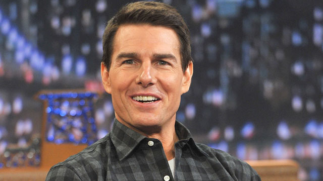 "PHOTO: Tom Cruise visits ""Late Night With Jimmy Fallon"" at Rockefeller Center in this Dec. 20, 2011 file photo in New York City."