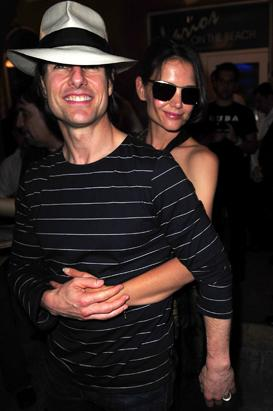 Tom Cruise &amp; Katie Holmes: Through The Years