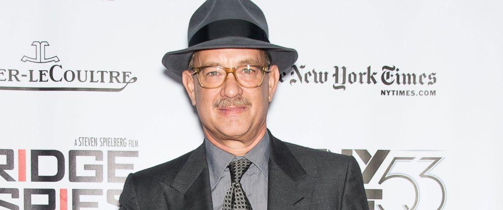 PHOTO: Tom Hanks attends the 53rd New York Film Festival on Oct. 4, 2015 in New York.