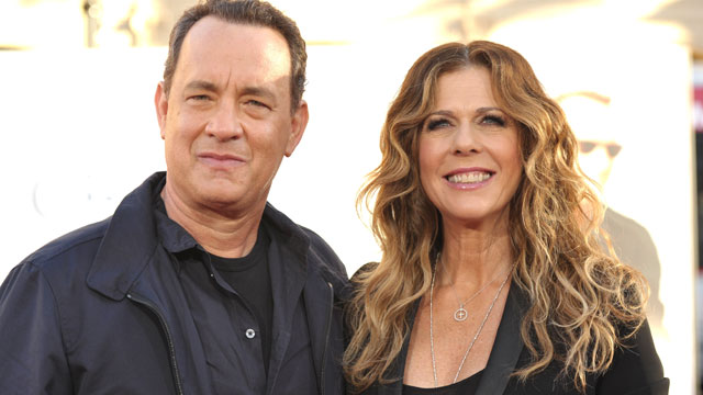"PHOTO: Actors Tom Hanks and Rita Wilson attend the ""Larry Crowne"" Los Anglees Premiere at Grauman's Chinese Theatre, June 27, 2011 in Hollywood, California."