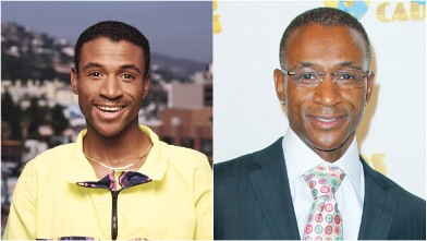 PHOTO: Tommy Davidson is seen in these 1991 and 2011 file photos.