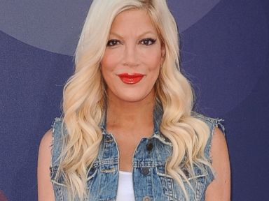 PHOTO:Actress Tori Spelling attends the premiere of Inside Out at the El Capitan Theatre, June 8, 2015, in Hollywood, Calif.