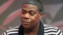 PHOTO: Actor Tracy Morgan visits BET studios on April 16, 2014 in New York City.
