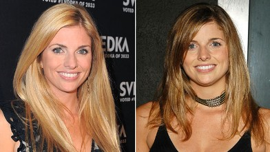PHOTO:Trishelle Cannatella is seen in 2003, left, and gain in 2011.