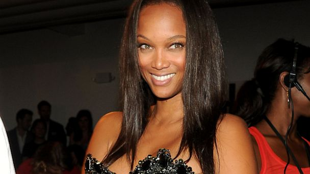 PHOTO: Tyra Banks attends Fashion Week Spring 2014.