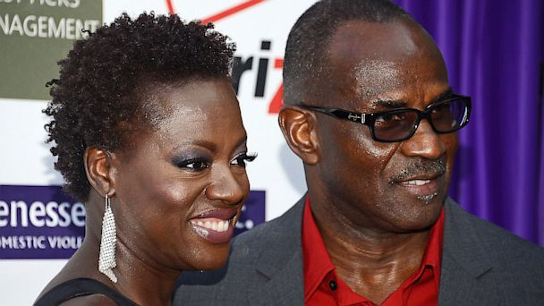 PHOTO: Viola Davis and Julius Tennon
