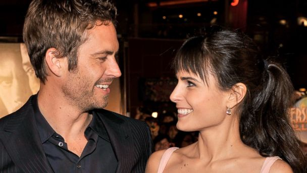 PHOTO: Paul Walker and Jordana Brewster arrive at the premiere Universal's