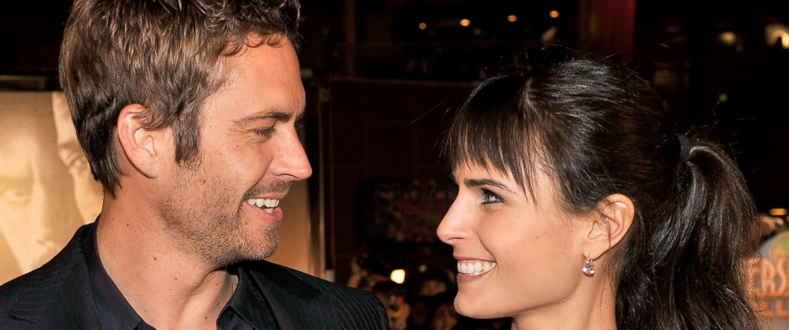 """PHOTO: Paul Walker and Jordana Brewster arrive at the premiere Universals """"Fast & Furious"""" at Universal CityWalk Theaters, March 12, 2009 in Los Angeles."""