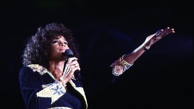 PHOTO: Whitney Houston performs in Copenhagen 1988.